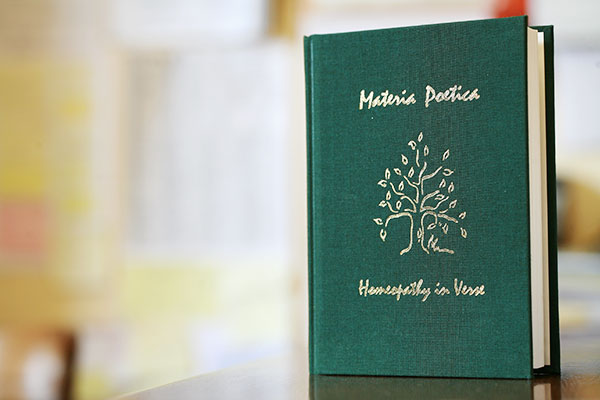 Materia Poetica: Homeopathy in Verse